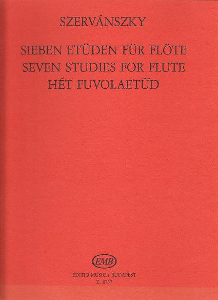 Szervanszky E. - Seven Studies For Flute