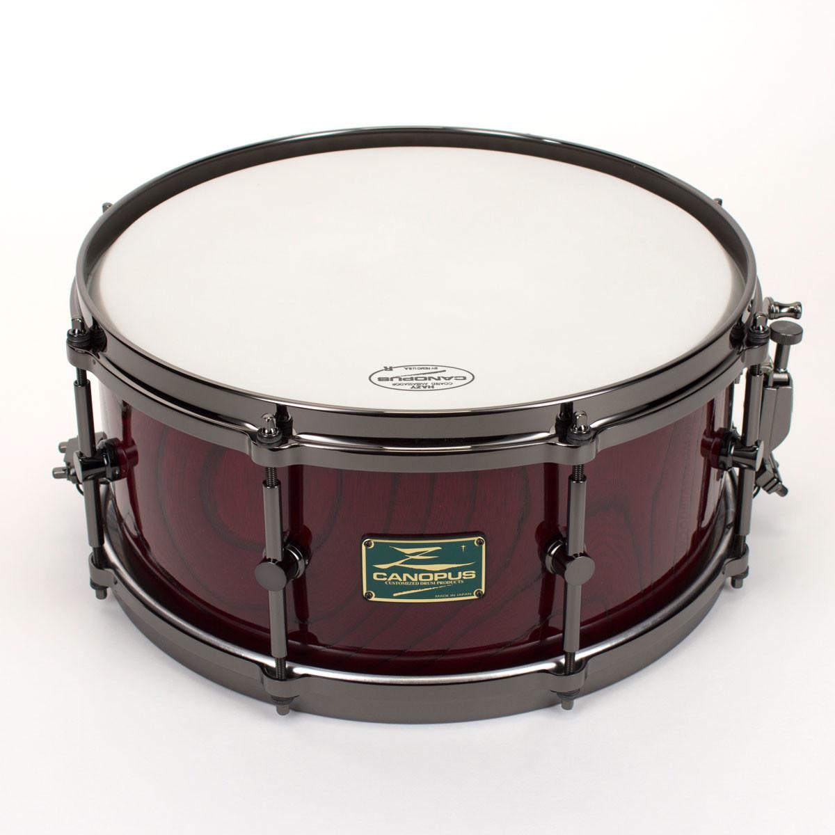 canopus zelkova 14 x 6 5 snare drum limited serie 2013 lacquer hs 1465ki vintage brian blade. Black Bedroom Furniture Sets. Home Design Ideas