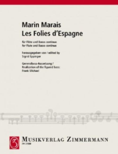 Marin Marais - Les Folies D'espagne - Flute and Basse Continue