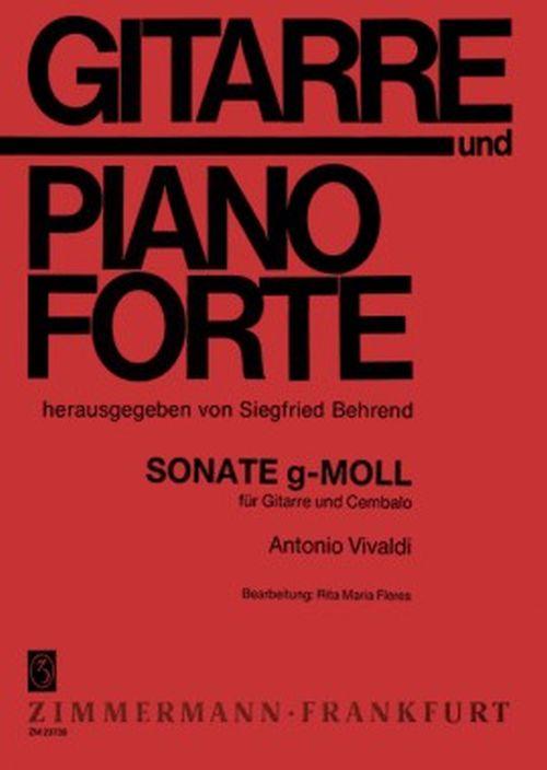 Vivaldi Antonio - Sonate G-moll - Guitare and Clavecin