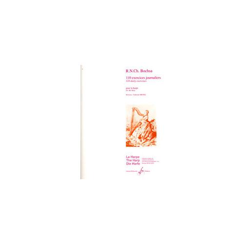 Boscha R.n.c - 110 Exercices Journaliers - Harpe
