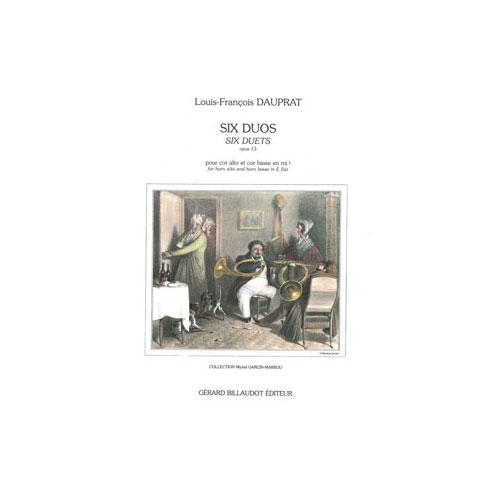 Dauprat Louis-francois - Six Duos Opus 13 - 2 Cors