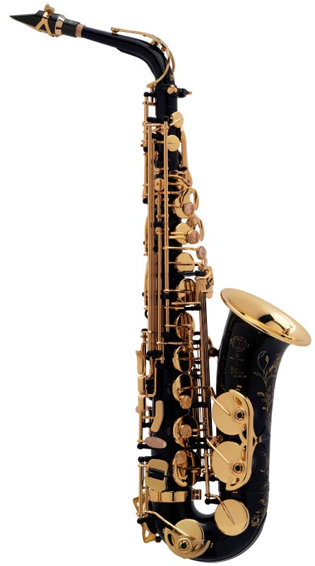 SUPER ACTION 80 SERIES II JUBILE NG GO (BLACK LACQUER ENGRAVED / GOLD LACQUERED KEYS)